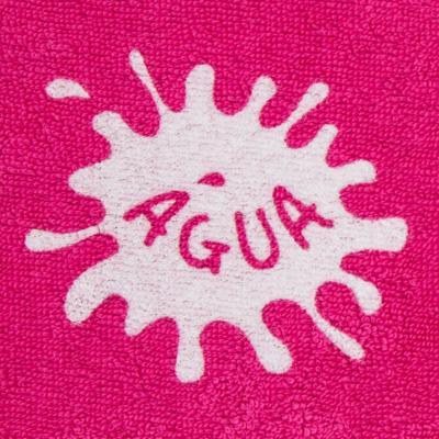 Imagem 2 do produto Roupão atoalhado com capuz Pink - Cara de Criança - RO2166 ROUPAO PINK RO ROUPAO ATOALHADO-6