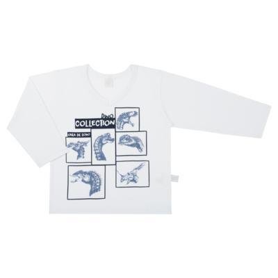 Imagem 2 do produto Pijama longo em malha Dinossauros - Cara de Sono - L3490 PIJAMA LONGO MALHA DINOS-2