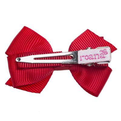 Imagem 2 do produto Presilha laço duplo Vermelha - Roana