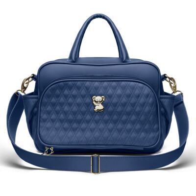 Imagem 2 do produto Bolsa maternidade para bebe Veneza + Frasqueira Térmica Milão + Kit Acessórios Golden Koala Marinho- Classic for Baby Bags