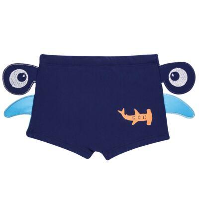Imagem 4 do produto Conjunto de Banho Tubarão Martelo: Camiseta + Sunga - Cara de Criança - KIT 1 2910: SB2910 + CCA2910 SUNGA BOXER E CAMISETA TUBARAO MARTELO-6