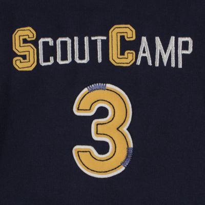 Imagem 5 do produto Jaqueta c/ Calça em moletom Camp Scouting - Mini & Classic - 19154161 CONJ CASACO C/ CALÇA MOLETON CAMPING-GG