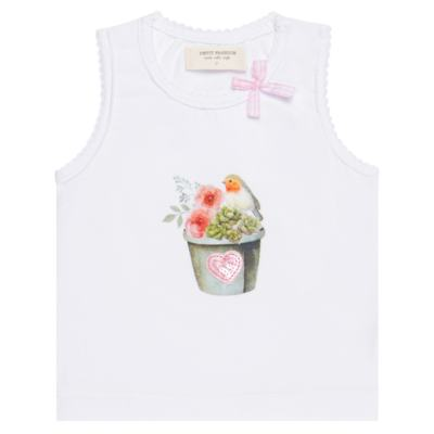 Imagem 2 do produto Regata c/ Cobre fralda para bebe em cotton Love Cactus - Petit - 17024300 CJ REGATA NAD. CALCINHA COTTON/VISC LOVE CACTUS-P