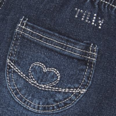 Imagem 3 do produto Calça jeans para bebe Little Heart - Tilly Baby - TB166003 CALCA JEANS FEM -2
