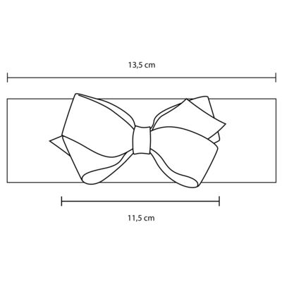 Imagem 2 do produto Faixa meia Maxi Laço gorgurão Marfim - Roana - FAME0080031 FAIXA MEIA ESPECIAL 158 MARFIM