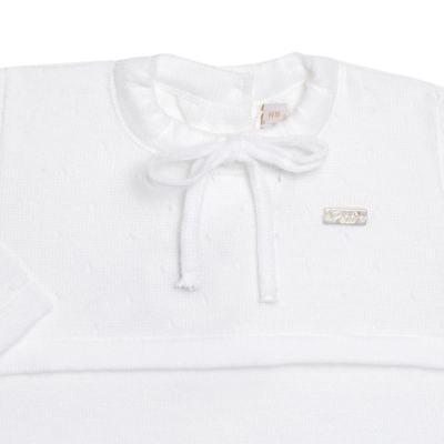 Imagem 2 do produto Macacão longo para bebe em tricot Blanche - Petit