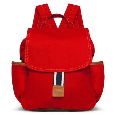 Imagem 2 do produto Mochila maternidade + Necessaire Adventure em sarja Vermelha - Classic for Baby Bags