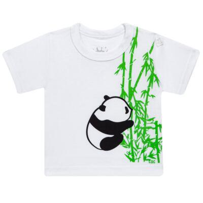 Imagem 2 do produto Conjunto de Banho para bebe  Pandite: Camiseta + Sunga - Cara de Criança - KIT 1 2530: SBB2530+CCAB2530 SUNGA E CAMISETA BB PANDA-M