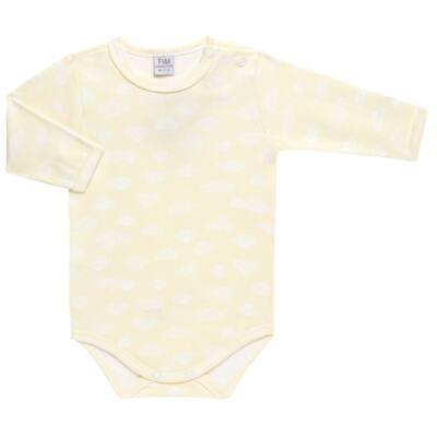 Imagem 3 do produto Pack 2 Bodies longos para bebe em suedine Ursinho - Petit - 10424346 PACK 2 BODIES M/L SUEDINE URSO NEUTRO-G