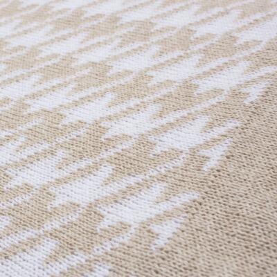 Imagem 13 do produto Kit Berço: Rolinhos Laterais + Rolinho Cabeceira + Manta + Segura nenê Pied Poule Caqui - Petit