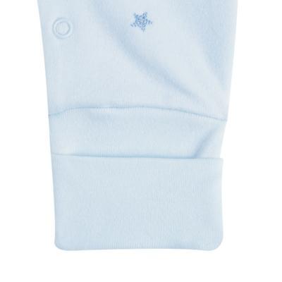 """Imagem 3 do produto Macacão longo c/ abertura """"S"""" para bebe em algodão egípcio Prince Bear - Mini & Classic - 2004656 MACACAO S C/ PE REVERSIVEL SUEDINE URSO-M"""