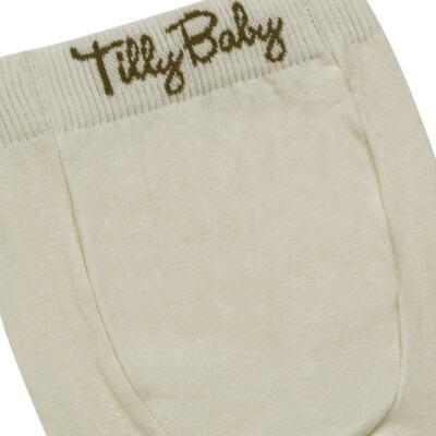 Imagem 3 do produto Meia-Calça para bebe em algodão Bege - Tilly Baby - TB172031.02 ACESSORIO MEIA UNISSEX BASICA BEGE-GG