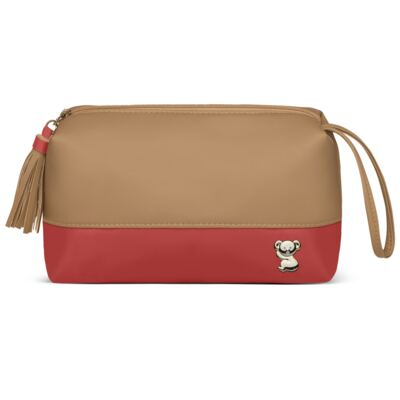 Imagem 5 do produto Mala Maternidade para bebe + Bolsa Genebra + Frasqueira Térmica Zurique  + Necessaire + Trocador Portátil Due Colore Coral - Classic for Baby Bags