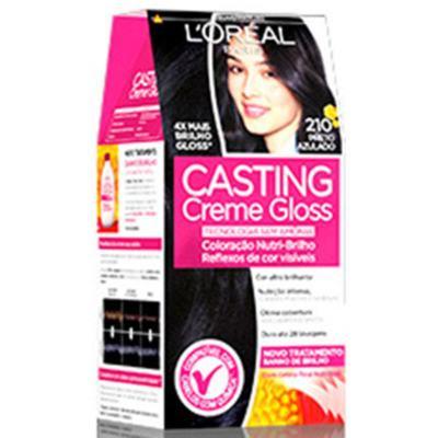 Tintura Casting Creme Gloss 210 Preto azulado