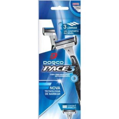 Aparelho De Barbear Dorco Pace3 Descartável