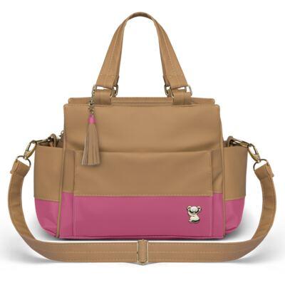 Imagem 4 do produto Mala Maternidade para bebe + Bolsa Genebra + Frasqueira Térmica Zurique Due Colore Pink - Classic for Baby Bags
