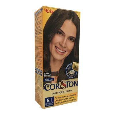 Imagem 1 do produto Coloração Cor & Ton Louro Escuro Acinzentado 6.1