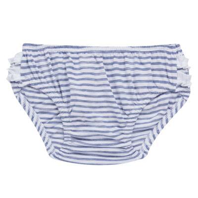 Imagem 6 do produto Vestido com Calcinha para bebe em malha Navy - Tilly Baby - TB168201 CONJ FEMININO VESTIDO C/ CALCINHA LISTRADO-P
