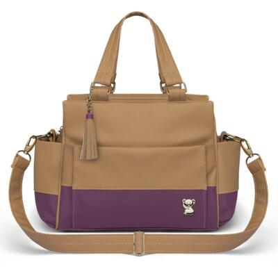 Imagem 3 do produto Bolsa maternidade para bebe Genebra + Frasqueira Térmica Zurique Due Colore Uva - Classic for Baby Bags