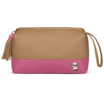 Imagem 5 do produto Mala Maternidade para bebe + Bolsa Genebra + Frasqueira Térmica Zurique  + Necessaire + Trocador Portátil Due Colore Pink - Classic for Baby Bags