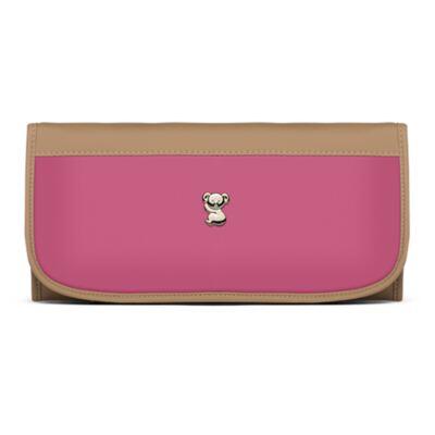Imagem 5 do produto Mala Maternidade para bebe + Bolsa Genebra + Frasqueira Térmica Zurique + Trocador Portátil Due Colore Pink - Classic for Baby Bags