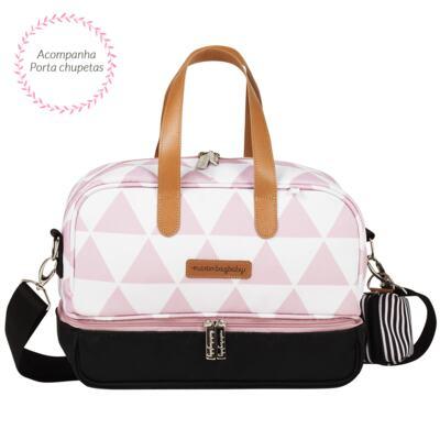 Imagem 3 do produto Bolsa 4 em 1 Sofia + Frasqueira térmica Vicky Manhattan Rosa - Masterbag
