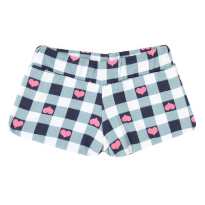 Imagem 3 do produto Body regata com shorts balonê para bebe Bubblegum - Time Kids - TK5054.PK CONJUNTO BODY E SHORTS XADREZ PINK-M