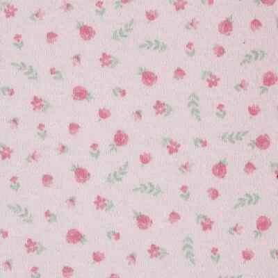 Imagem 3 do produto Macacão c/ Bolero para bebe em algodão egípcio Florale - Mini & Classic - 21664172 MACACAO ML  CASACO SUEDINE/TR FLORAL-M