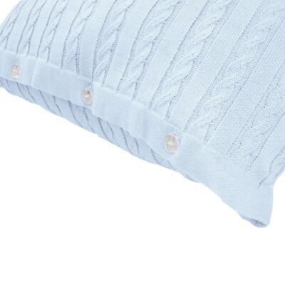 Imagem 9 do produto Kit Berço: Rolinhos Laterais + Rolinho Cabeceira + Almofada Quadrada + Almofada Retangular Mon Petit  - Petit