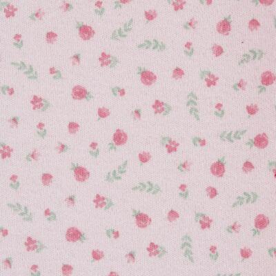Imagem 3 do produto Macacão c/ Bolero para bebe em algodão egípcio Florale - Mini & Classic - 21664172 MACACAO ML  CASACO SUEDINE/TR FLORAL-P