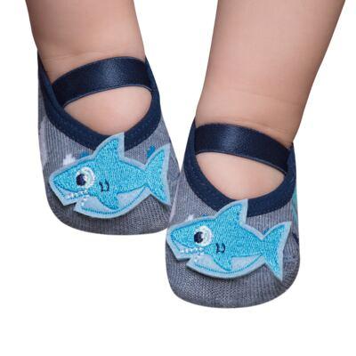 Imagem 1 do produto Meia Sapatilha para bebe Tubarão - Puket