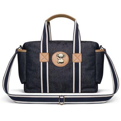 Imagem 4 do produto Bolsa Passeio para bebe + Bolsa Albany +  Frasqueira Térmica Gold Coast Adventure Jeans - Classic for Baby Bags
