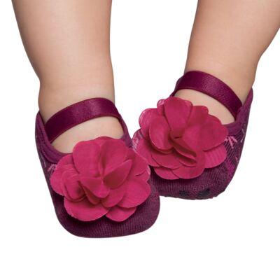 Imagem 1 do produto Meia Sapatilha para bebe Burgundy - Puket
