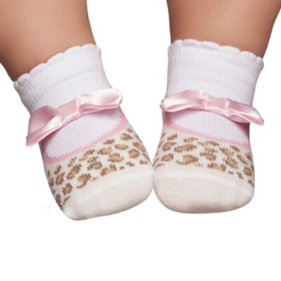 Imagem 1 do produto Meia Soquete recém-nascido Oncinha - Puket