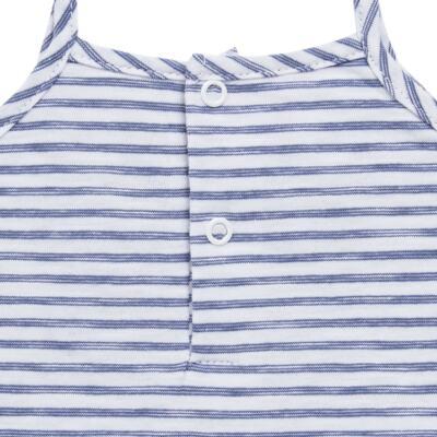Imagem 5 do produto Vestido com Calcinha para bebe em malha Navy - Tilly Baby - TB168201 CONJ FEMININO VESTIDO C/ CALCINHA LISTRADO-1