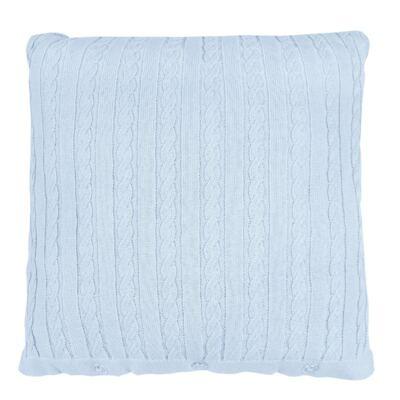 Imagem 8 do produto Kit Berço: Rolinhos Laterais + Rolinho Cabeceira + Almofada Quadrada + Manta em tricot trançado Mon Petit - Petit