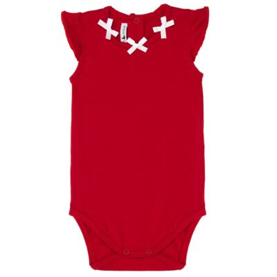 Imagem 2 do produto Body regata c/ Shorts para bebe em cotton Liberty - Mini Sailor - 17374443 CONJ. BODY C/SHORTS COTTON VERMELHO-NB