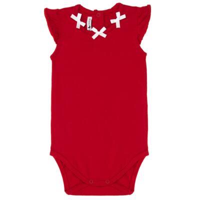 Imagem 2 do produto Body regata c/ Shorts para bebe em cotton Liberty - Mini Sailor - 17374443 CONJ. BODY C/SHORTS COTTON VERMELHO-0-3