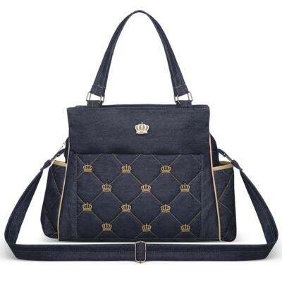 Imagem 2 do produto Bolsa Elizabeth + Bolsa Térmica Elizabeth para bebe Queen Jeans - Classic for Baby Bags