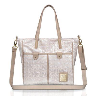 Imagem 1 do produto Bolsa maternidade para bebe Elegance - Kátia Reinert - KR15190.01 SACOLA LUXO G ELEGANCE
