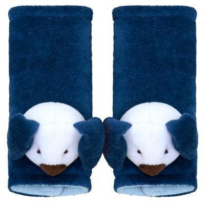 Imagem 1 do produto Protetor de cinto para bebe Dog Marinho - Biramar Baby - 33716-2184 Protetor Cinto - Dog