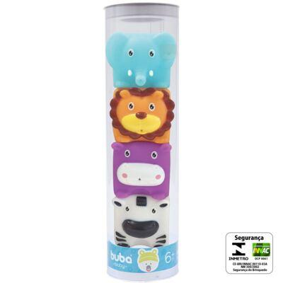 Imagem 2 do produto Bichinhos de banho Safari (6m+) - Buba - BUBA6586 BICHINHOS DE BANHO SAFARI