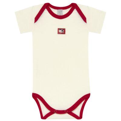 Imagem 3 do produto Body curto com Shorts para bebe em high comfort Vaquinha - Vicky Lipe - 18280001.38 CONJ.BODY C/SHORTS - SUEDINE-G