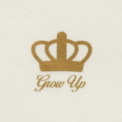 Imagem 3 do produto Blusinha para bebe em cotton Marfim - Grow Up - 03170111.0004 BLUSA BASIC ML CREME-2