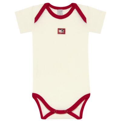Imagem 2 do produto Body curto com Shorts para bebe em high comfort Vaquinha - Vicky Lipe - 18280001.38 CONJ.BODY C/SHORTS - SUEDINE-GG