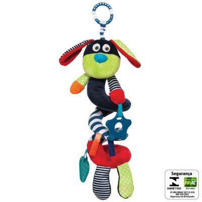 Imagem 2 do produto Cachorrinho Enroladinho Chocalho Flics (3m+) - Buba - BUBA5930 DOGUINHO MOLA FLICS