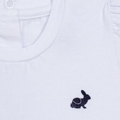 Imagem 2 do produto Blusinha longa em cotton Branca  - Missfloor - 58LB0001.369 BLUSINHA M/L COTTON-3