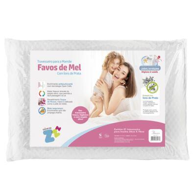 Imagem 1 do produto Travesseiro Favos de Mel Antissufocante - Fibrasca