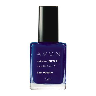 Imagem 1 do produto Nailwear Pro+ Esmalte 5 em 1 12 ml - Nailwear Pró+ Esmalte 5 em 1 - 12 ml - Azul Oceano *Cremosa