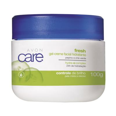Gel-Creme Facial Hidratante Avon Care Fresh - 100g